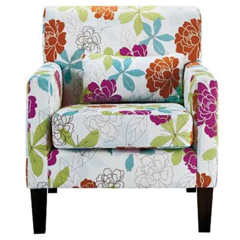 Floral Armchair by Floral Armchair From Homebase Chairs Funky Design