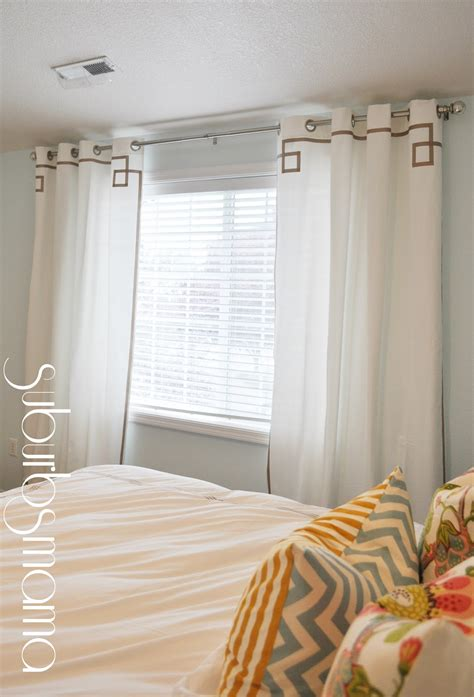 suburbs mama master bedroom curtains