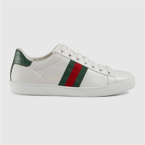 10 Top Gucci Shoes by Ace Leather Low Top Sneaker Gucci S Sneakers