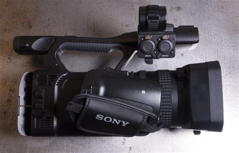 and camcorder all in one sony s new pxw z150 all in one professional camcorder has
