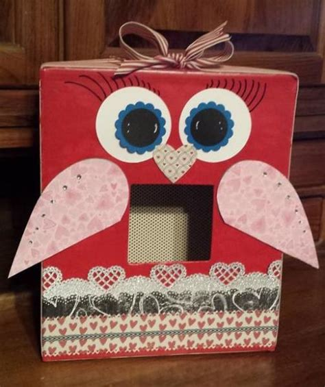 valentines day card boxes card box owl s day