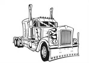 coloring pages optimus prime truck download