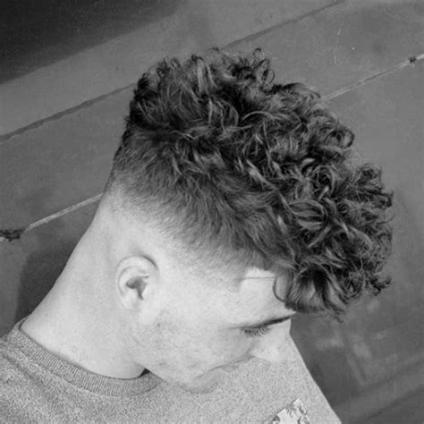cool medium curlys hair fades 25 curly fade haircuts for men manly semi fro hairstyles