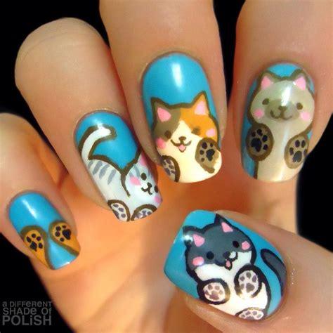 imagenes de uñas decoradas con animales 2015 u 241 as decoradas con gatos que vas a querer tener