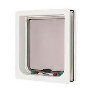 shop mate small white plastic door or wall pet door