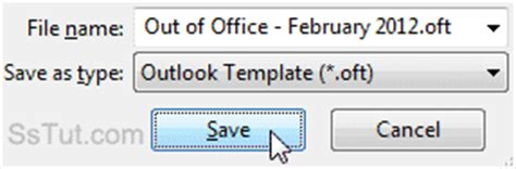out of office message outlook 2010 template create an out of office message in outlook 2010