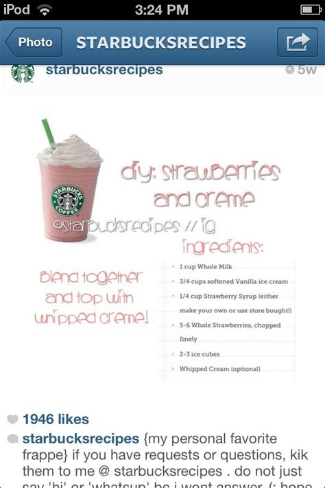 how to make a starbucks strawberries and drink at