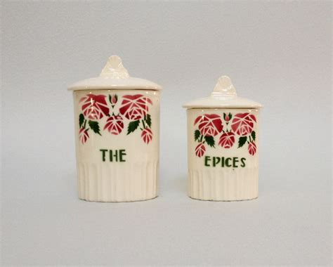 french style bedroom accessories ceramic kitchen canister set of 2 french vintage ceramic kitchen canisters with