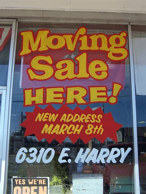 Moving Sale At Makeupcom by Moving Sale Resized