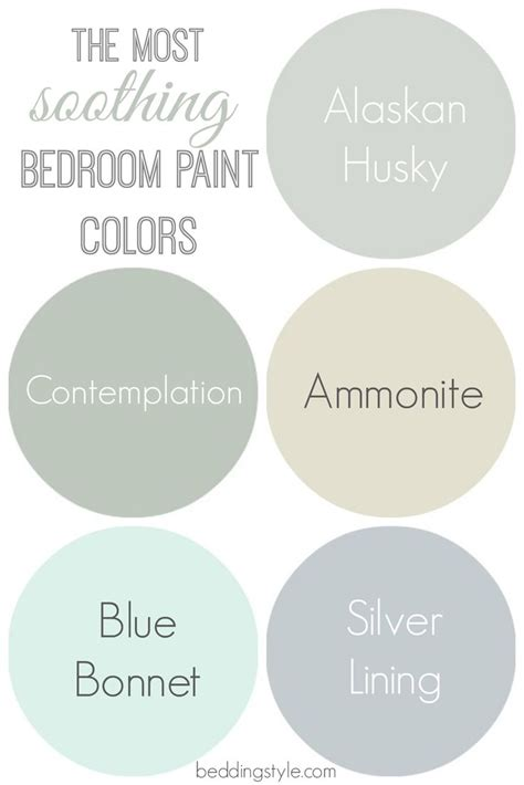 tranquil colors relaxing paint colours for bedrooms www redglobalmx org