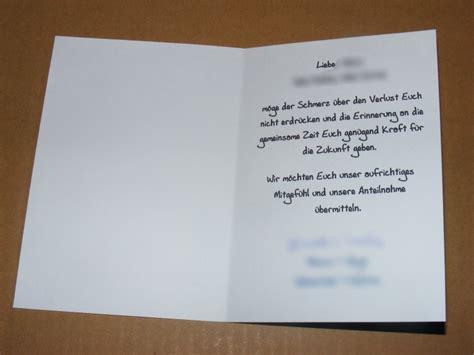 Trauerkarte Schreiben Muster Bastelecke Trauerkarte 6 171 Kikis Kreativkiste