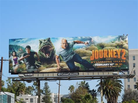 daily billboard trio day journey 2 the mysterious island movie billboards advertising for