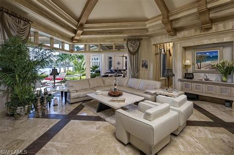 million newly listed waterfront estate  naples fl