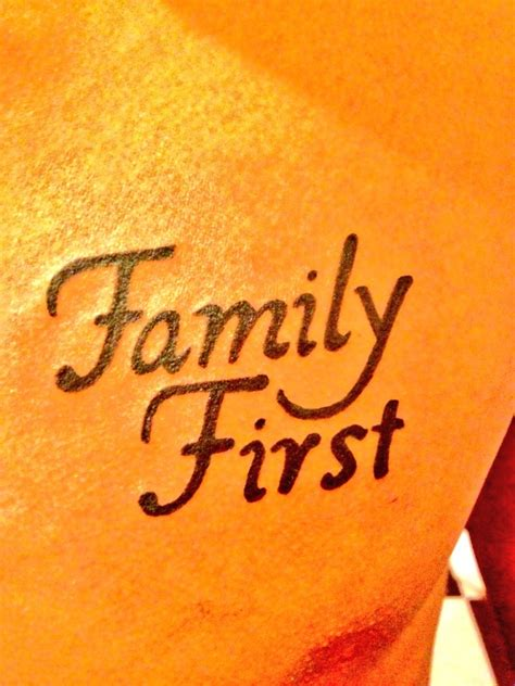 family first tattoos designs family tattoos quotes quotesgram