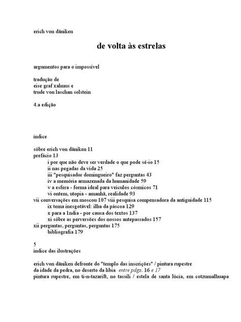 Erich Von Daniken de Volta às Estrelas | Nucleic Acids | Dna