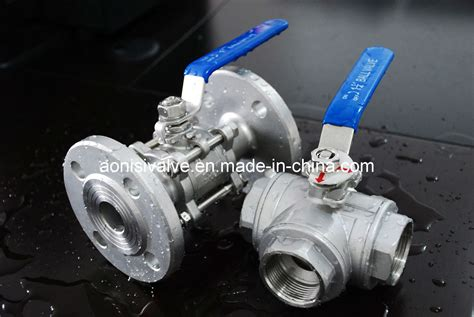 Type T L by China T L Type Thread 3 Ways Valve And