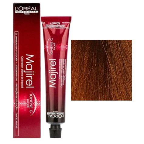 loreal majirel hair colour loreal professionnel majirel ld hair color 7 4 copper