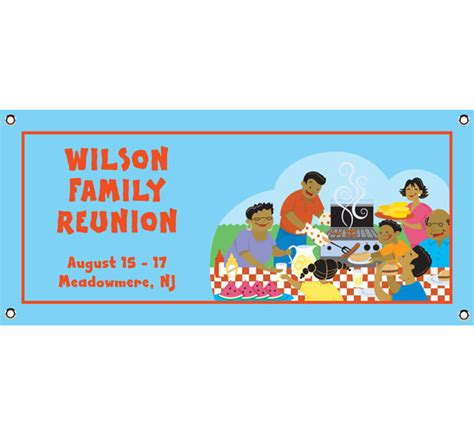 see all family reunion custom