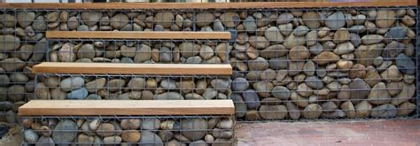 gabion fences and walls rock fence design uk