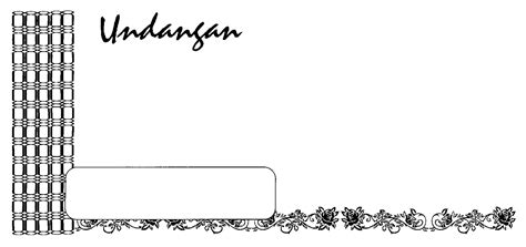 template frame undangan download undangan gratis desain undangan pernikahan