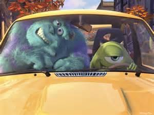 monsters inc new car monsters inc mike s memory