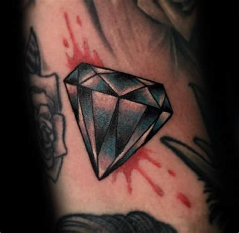 watercolor tattoo diamond 50 traditional designs for ink