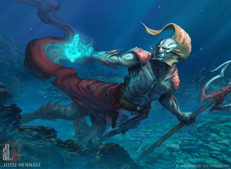 Sea Warrior thrasios triton by robotdelespacio on deviantart