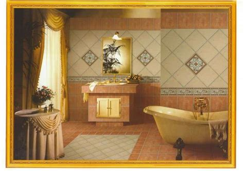 piastrelle per bagno rustico piastrelle per il bagno rustico foto design mag