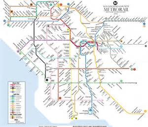 La Metro System Map by Could La S Rail System Ever Look Like This Curbed La