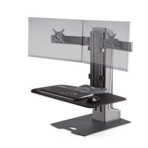 winston stand up desk winston e sit stand workstation innovative