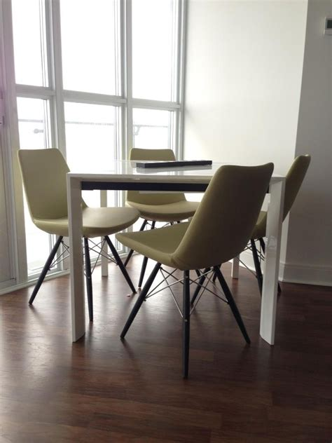 Modern Dining Room Furniture Toronto Modern Green Pistachio Color Dining Chairs From Furniture Toronto Http Www Furnituretoronto