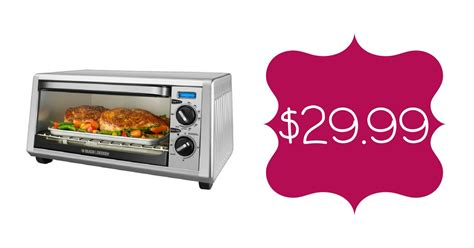 Which Toaster Oven To Buy Best Buy 29 99 Black Decker Slice Toaster Oven Shipped