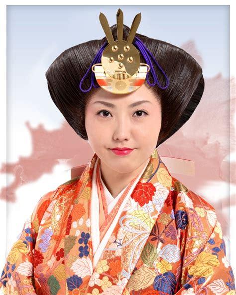 traditional hair osuberakashi japanese traditional hairstyles pinterest