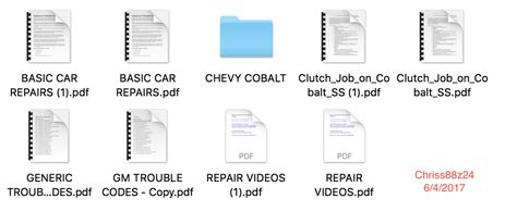 owners manual for 06 chevy cobalt how to and user guide instructions for sale for sale 2005 2010 chevrolet cobalt service manual cobalt ss network