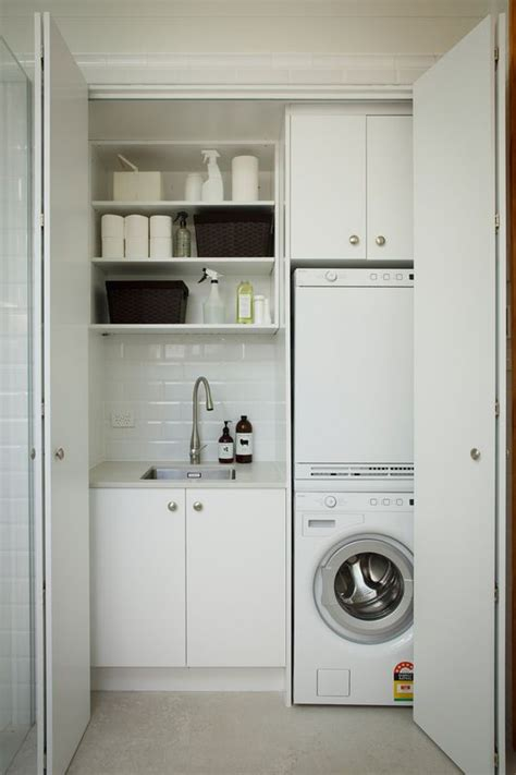 concealed washer and dryer 1000 ideas about concealed laundry on pinterest laundry