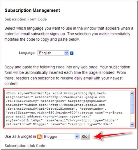 creare layout newsletter come creare una newsletter per inviare i post ai lettori