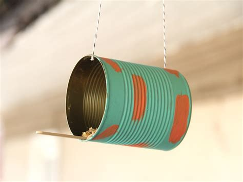 Tin Can Bird Feeder bird feeder munchkins and