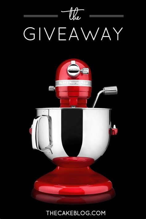 Kitchenaid Stand Mixer Giveaway - giveaway kitchenaid mixer 7 qt