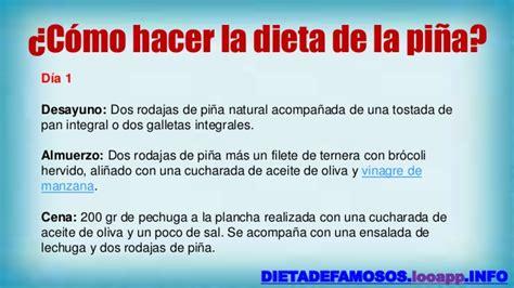 la dieta de la dieta de la pi 241 a para adelgazar rapido dieta de la pi 241 a