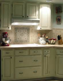 Vintage Kitchen Tile Backsplash Country Kitchen Tile Backsplash Ideas Myideasbedroom Com