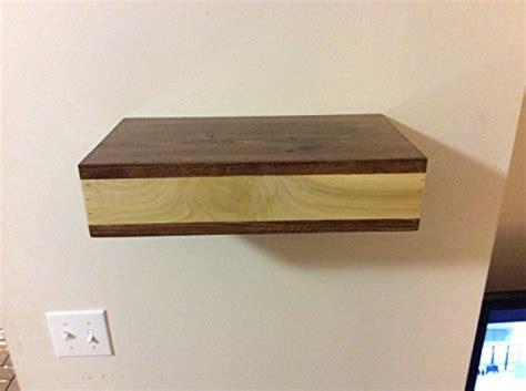 wood floating shelf rustic home decor rustic by rustic wood floating shelf with hidden compartment rustic