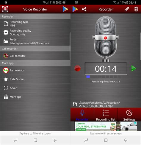 best android voice recorder best android voice recording apps