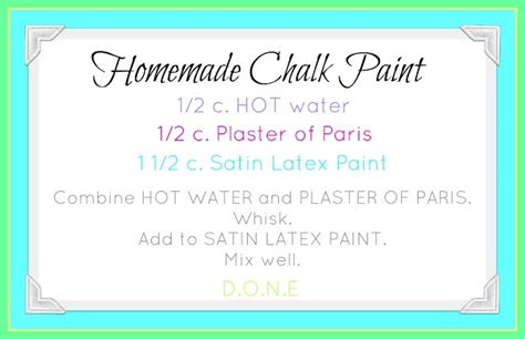 chalk paint recipe using plaster of 1000 images about plaster of on
