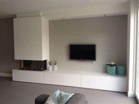tv meubel en elektrische haard werkspot