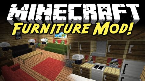 Minecraft The Furniture Mod by Minecraft Furniture Mod For Minecraft 1 9 1 8