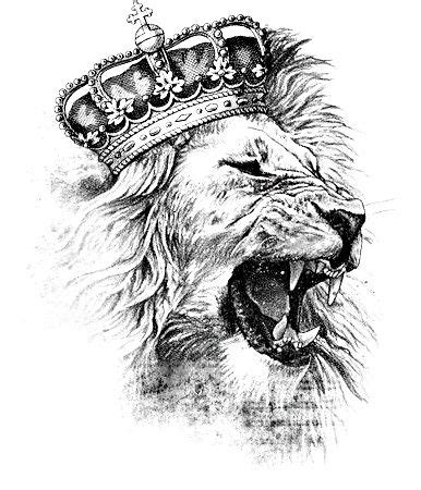 lion with crown tattoo design 25 best ideas about design on