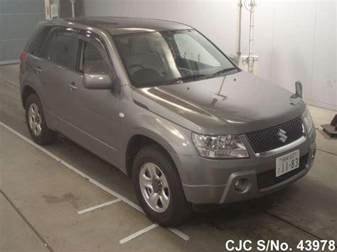 Suzuki Grand Vitara 2006 For Sale 2006 Suzuki Escudo Grand Vitara Gray For Sale Stock No