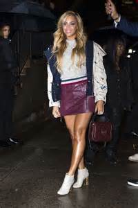 beyonce in leather mini skirt 05 gotceleb