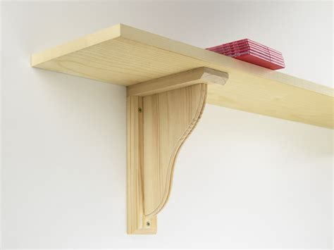 Make Shelf Brackets by Building Wood Shelf Supports Woodworking Plans
