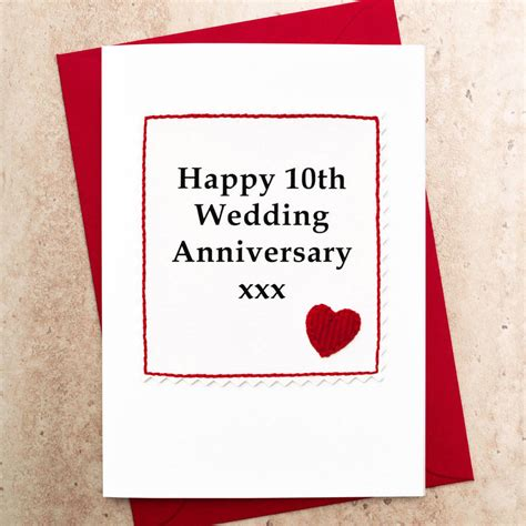 10Th Wedding Anniversary Gifts – 25  best ideas about 10 Year Anniversary on Pinterest